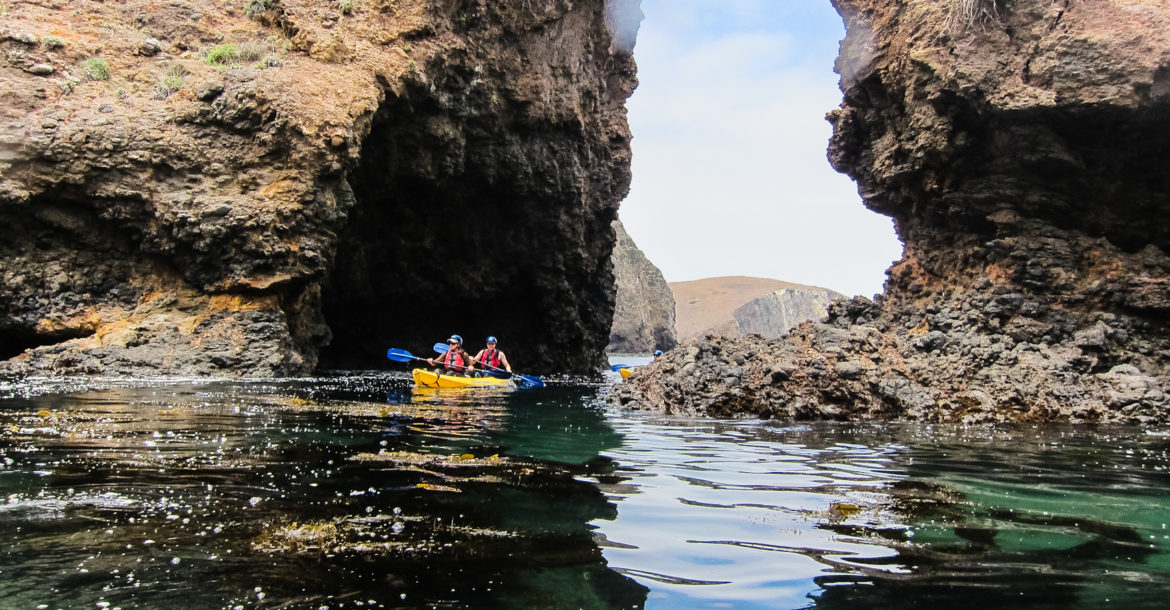 Channel Island Cave Tours